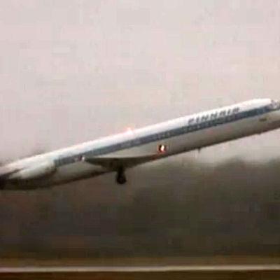 Ett Finnair flygplan
