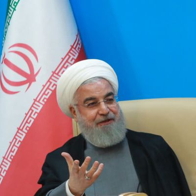 Irans president Hassan Rouhani