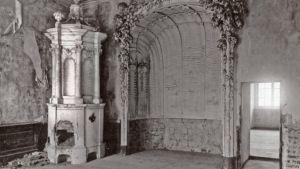 Barockpalatset Rundāle i Lettland under Första världskriget