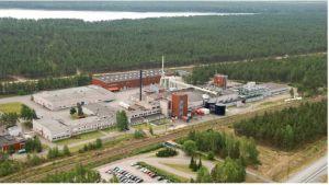 Visko Teepaks fabrik vid riksväg 25 i Hangö.