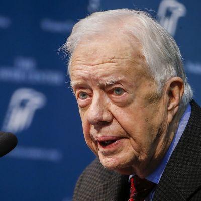 Yhdysvaltain entinen presidentti Jimmy Carter.