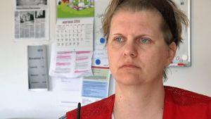 Martina Lindroos är biträdande chef för asylboendena i Borgå