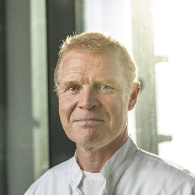 Peter Nieminen, chef för operativa ansvarsområdet på Vasa centralsjukhus.