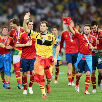 Espanja vei Euroopan mestaruuden