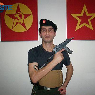 Terroristiryhmä DHKP-C:n taistelija, jonka uskotaan tehneen iskun Turkin lähetystöön.