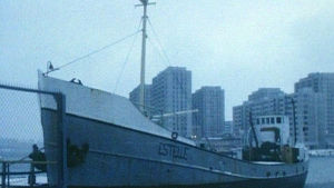 Fartyget Estelle i hamn