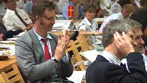 holger spår (eero wallén) på sfp:s partidagar, 1992