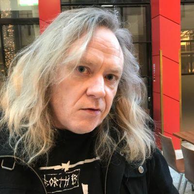 Jussi Hakulinen Porin Bepopissa 12.2.2019.