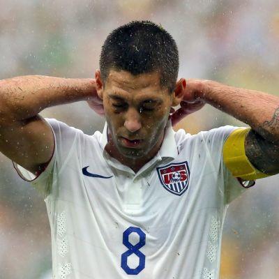 Yhdysvaltain maajoukkueen kapteeni Clint Dempsey MM-kisoissa 2014.