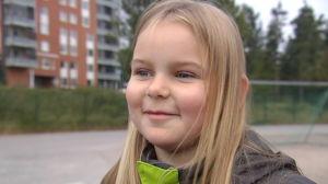 Hanna Indrenius-Zalewski, åk 5 i Mattlidens skola.