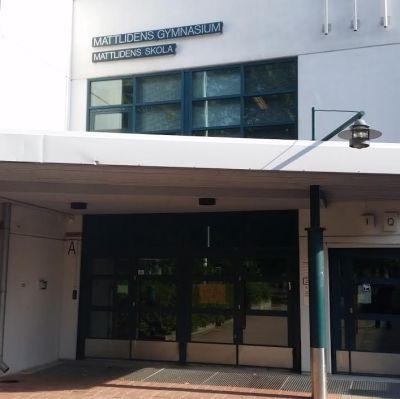 Mattlidens skola.