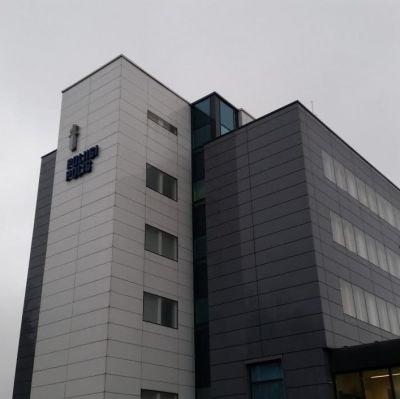 Polisstationen i Esbo.