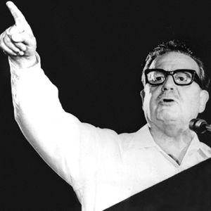 Salvador Allende (1970-luku).