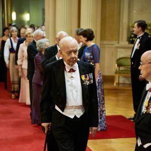 Krigsveteranen och krigshistorikern Göran Westerlund