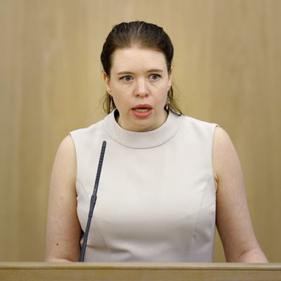Kansanedustaja Anna Kontula.