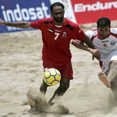 Rantajalkapallo kuuluu Asian Beach Gamesin lajeihin
