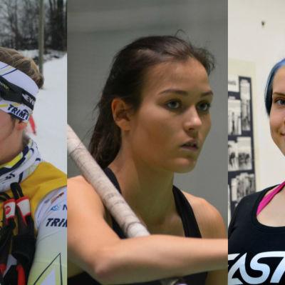 Julia Häger, Alina Strömberg, Susanna Törrönen.