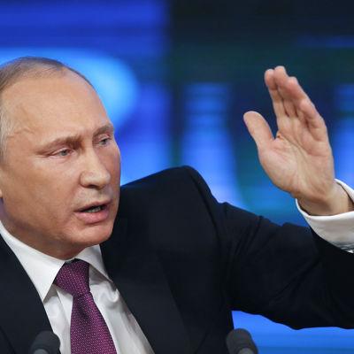 Putin höll sin årliga presskonferens