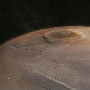 Olympus Mons, Marsin korkein vuori