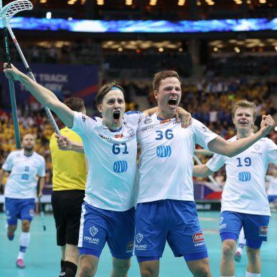 Peter Kotilaisen, Ville Lastikan ja Joonas Pylsyn muodostama kolmosketju oli lopulta tehokas avain Suomen MM-kultaan.