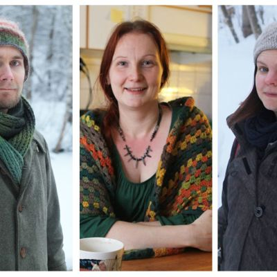 Osma Naukkarinen, Hanna Era ja Janika Tanni.