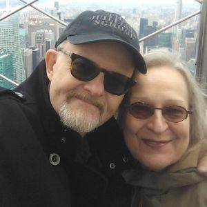 Matti ja Sinikka Raekallio Empire State Buildingin näköalatasanteella