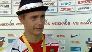 Pekka Sihvola efter ett hattrick mot JJK.