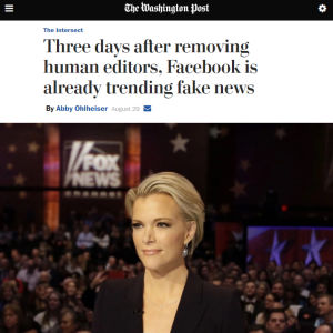 Kuvakaappaus The Washington Postin uutisesta.