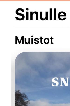 Ruutukaappaus: Applen Kuvat-sovelluksen vuosinäkymä.
