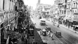 Katunäkymä Karachissa 1930-luvulla
