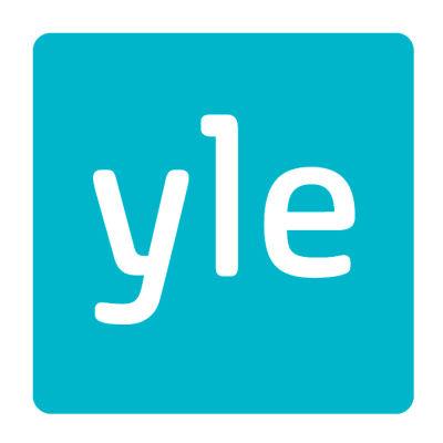 Ylen logo turkoosina.