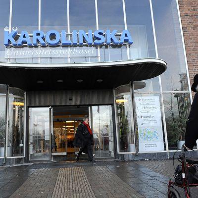 Karoliininen sairaala Tukholmassa. Kuva vuodelta 2012.