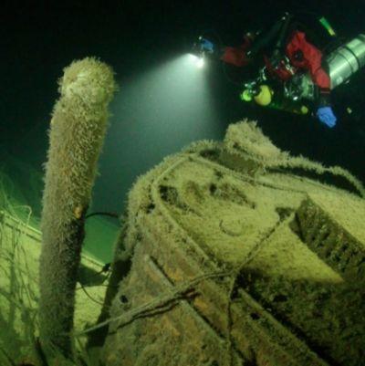 vraket av u-26 ubåten