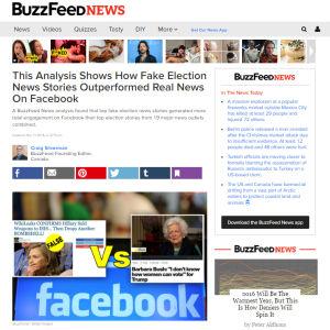 Kuvakaappaus Buzzfeedin jutusta.