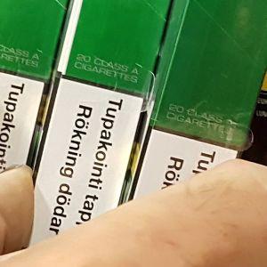 Menthol-savuke