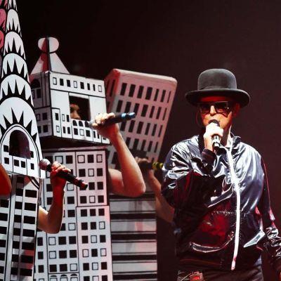 Pet Shop Boys konsertissa Lontoon O2-areenalla 2009