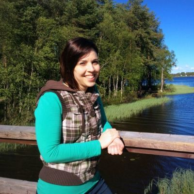 Mariana Rocha veisi Oulussa vierailevan tutustumaan esimerkiksi Kuivasjärven maisemiin.