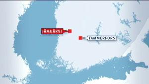 Jämijärvi i Satakunta.