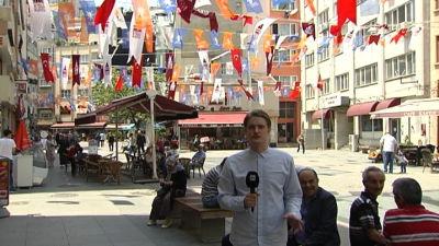 Viktor Heikel i Turkiet, Istanbul