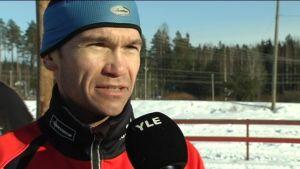 Niklas Westerlund under FSSM i Lovisa