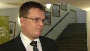 Centerns partisekreterare Jarmo Korhonen