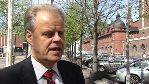 OAJ:s ordförande Olli Luukkainen
