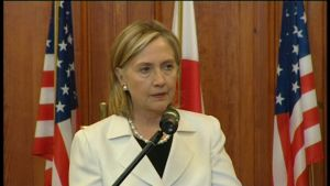USA.s utrikesminister Hillary Clinton.