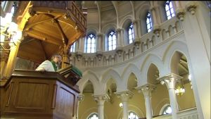 Gudstjänst i Johannes församling i Helsingfors