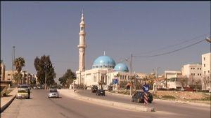 Ammans moderna stadsbild  döljer ett spänt läge