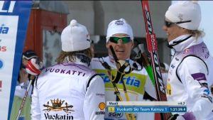 Vuokatti Ski Team Kainuu vann FIinlands Cup