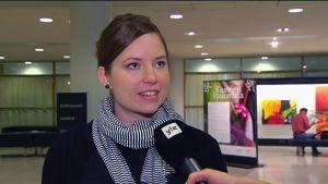 Johanna Öst Häggblom.