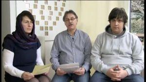 Kidnappade österrikarens familj