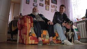 Jevgenij och morfar