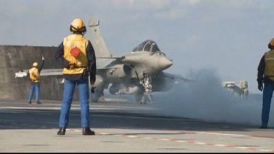 Franska militären opererar utanför Libyen